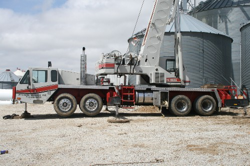 Sprayer Parts and Grain Bin Services in Adair, Iowa